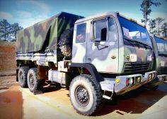 Stewart-Stevenson Service Incorporated MTV M-1083 Cargo Truck on GovLiquidation! #MilitarySurplus