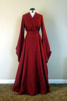 Le Gâteau à la Mode: Sewing Project: Melisandre from Game of Thrones Daenerys Targaryen Kleid, Cersei Lannister Costume, Sansa Stark Costume, Game Of Thrones Outfits, Game Of Thrones Dress, Game Of Thrones Cosplay, Game Thrones, Game Costumes, Cosplay Costumes