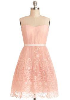 Fancy Free-Spirited Dress | Mod Retro Vintage Dresses | ModCloth.com