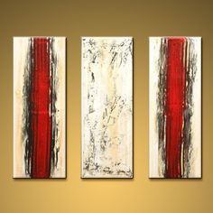 Hand Painted Elegant Modern Abstract Painting Wall Art On Canvas Artworks. In Stock $125 from OilPaintingShops.com @Bo Yi Gallery/ ops9140