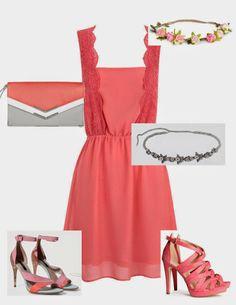 Vestido de Suite blanco con dos combinaciones en su mismo color. #fashion #lowcost  http://cuchurutu.blogspot.com.es/2014/05/complementos-de-boda-lowcost.html