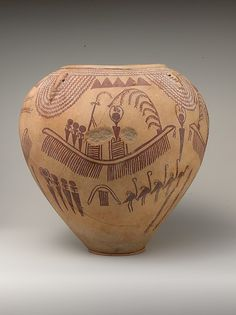Image result for oldest vase ever found in Egypt depicting a man lying down in a boat