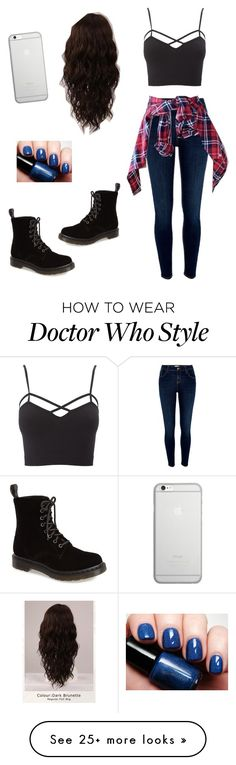 """untitled"" by marilyng341 on Polyvore featuring Dr. Martens, River Island, Charlotte Russe, WigYouUp, Native Union and plus size clothing"