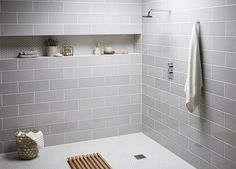 Tops Tiles Attingham Mist & Shapes Hexagon Matt White