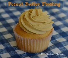 Peanut Butter Frosting - Easy to Make with 4 ingredients