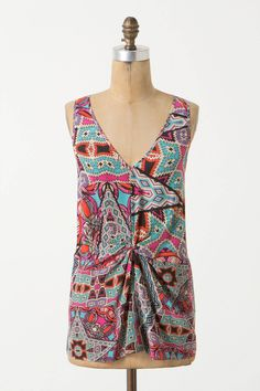 Glass Tiles Tank from Anthropologie - $49.95