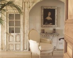 Country French Antiques: une grande serviette