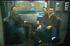 Bob Mazzer on the tube London