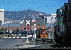 RailPictures.Net Photo: DRGW 3132 Denver & Rio Grande Western Railroad EMD GP40 at Salt Lake City, Utah by James Belmont