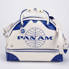 Pan Am vintage carry-on bag!