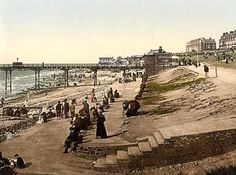 Images of Hunstanton in postcards - the sea front and beach