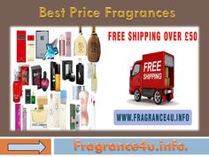 Get the best Price fragrances for men and women from some well known brands like Davidoff, Versace, Guess, Burberry etc.  Buy your favourite perfume online and save your money and time. visit : http://www.fragrance4u.info.