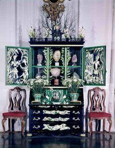 "Tony Duquette - The ""Elsie de Wolfe Cabinet"" created by Tony Duquette for Elsie de Wolfe, Lady Mendle in 1941"