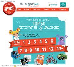 Yoyo.com newsletter #e-mail #newsletter #e-commerce