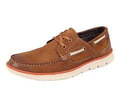 Amazon.com | Serene Men's Vintage Leather Footwear Billfish 2 Eye Casual Loafer Boat Shoes | Loafers & Slip-Ons