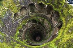 12 Most Dark And Mysterious Places On Earth.   The Initiation Wells, Sintra, Portugal.