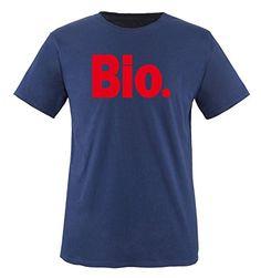 Comedy Shirts - Bio. - children T-Shirt camiseta - marina / rojo tamaño 86-92 #camiseta #starwars #marvel #gift