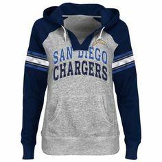 San Diego Chargers Ladies Pullover Hoodie