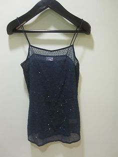New Free People Sequin Cami Sapphire Size Small/Petite