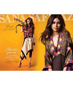 Sana Safinaz | Fashion Pakistan | Sana Safinaz on Secret Closet