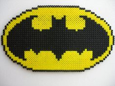 Perler bead Big Batman Logo by Slimer530 on deviantart