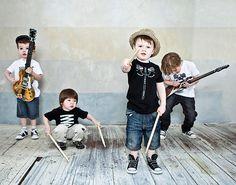 Little rockstars omg I love it!