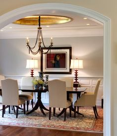 Leslie Hayes Interiors - contemporary - dining room - philadelphia - Leslie Hayes Interiors