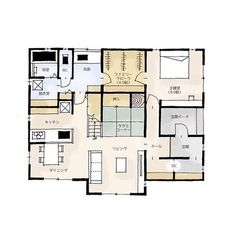 Instagram Widget, Japanese House, House Layouts, Interior And Exterior, Architecture Design, House Plans, Floor Plans, House Design, How To Plan