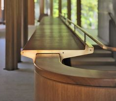 Beautiful Integral House by Shim-Sutcliffe Architects curved vence stairs detailed