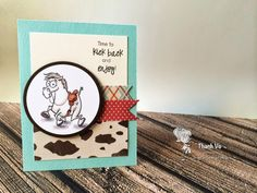 Your Next Stamp card/project by  Thanh using Quirky Animals Two and Crash