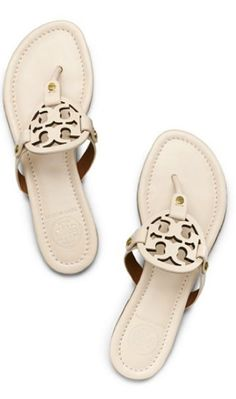 I live in these Tory Burch sandals