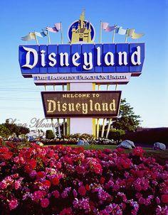 Disneyland, California.