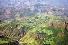 Ethiopian highlands