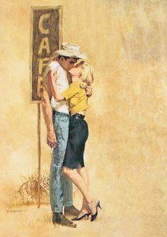 Robert McGinnis--I just love these vintage paintings!