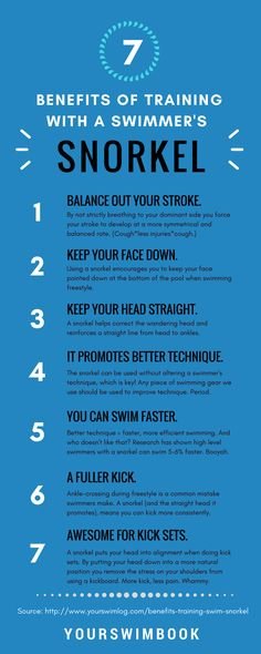 7 Benefits of Training with a Swimmer's Snorkel