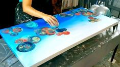 Acrylic Pouring Art, Acrylic Art, Abstract Canvas Art, Diy Canvas Art, Abstract Art For Kids, Abstract Painting Techniques, Canvas Painting Tutorials, Diy Painting, Pour Painting
