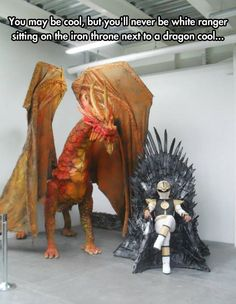 Superior Level Of Coolness: Game of Thrones and Power Rangers