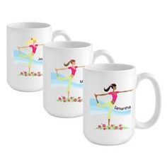 Go-Girl Coffee Mug - Yoga