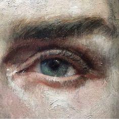 Oil painting detail by ! Oil painting detail by ! Painting Inspiration, Art Inspo, Academic Drawing, Renaissance Kunst, Arte Horror, Classical Art, Aesthetic Art, Portrait Art, Oeuvre D'art