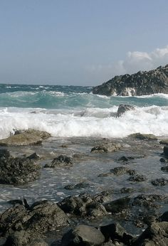 Aruba's north coast. She's Temperamental. #photography #aruba