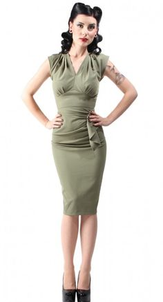Stop Staring! Chelsea A-Line Dress