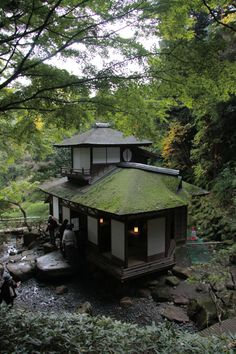 Sankeien Choushukaku, Yokohama, Japan - I would love to live in Japan....just for a little while....and a home like this