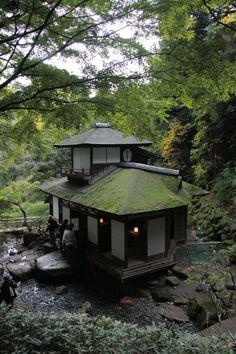 Sankeien Choushukaku, Yokohama, Japan Tea House.