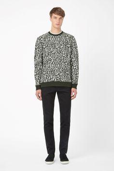COS | Printed sweatshirt