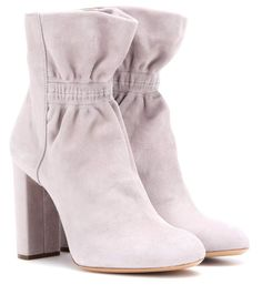 mytheresa.com - Suede ankle boots - Luxury Fashion for Women / Designer…