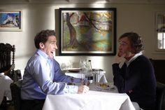 Still of Rob Brydon and Steve Coogan in The Trip (2010)