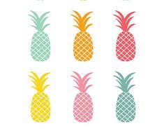 Pics For > Pineapple Print Background