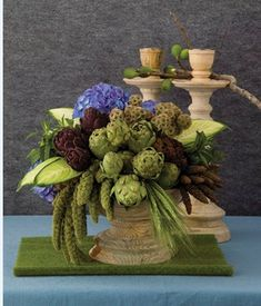 Giving Your Floral Designs Depth and Textures with Edibles