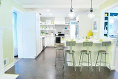 A remodel that includes the budget break down.  Not my style of kitchen, but the budget info is great!