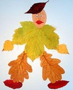 Leaf Crafts, Diy And Crafts, Crafts For Kids, Arts And Crafts, Autumn Activities, Activities For Kids, Deco Nature, Art Nature, Autumn Leaves Craft